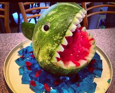 .carved watermelon