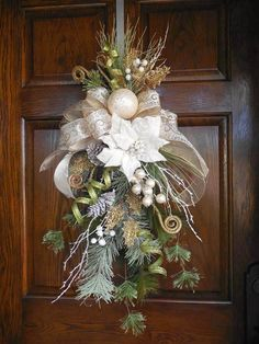 Hey, I found this really awesome Etsy listing at https://www.etsy.com/listing/255898860/christmas-swag-elegant-christmas-wreath