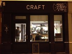 craft cafe canal - to work in Paris