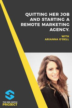 How to Quit Your Job & Start a Remote Marketing Agency: Arianna O'Dell – Office İnspiration Network Marketing Tips, Marketing Jobs, Content Marketing, Internet Marketing, Easy Online Jobs, Over It Quotes, Business Opportunities, Business Ideas, Quitting Your Job