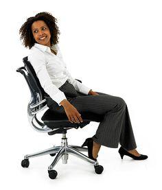A maior #ergonomia está na @EscinterMS com o #design da #Humanscale.  #WorkplaceWellbeing #freedomchair #cadeiras #escritorio