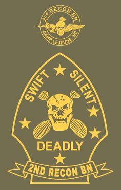 Recon Battalion T-shirt Usmc Recon, Marine Recon, Us Marine Corps, Marsoc Marines, Us Marines, Military Units, Military Terms, Military Service, Military Art