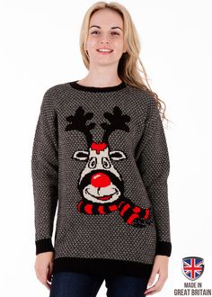 rudy jumper dress available from britishchristmasjumperscom