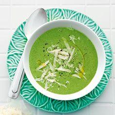 Kartoffel-Spinat-Suppe