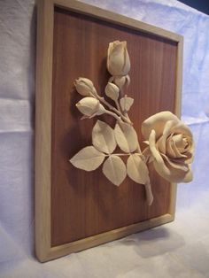 carved wood | Fine wood-carving flower rose. - by Artik @ LumberJocks.com ...