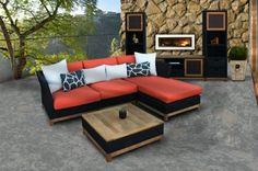 salon extérieur faire meubles en palettes