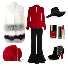 """""""Untitled #35"""" by emihox79 on Polyvore featuring Ava Adore, Diane Von Furstenberg, San Diego Hat Co. and Chanel"""