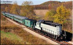 The Hocking Valley Scenic Railway is named for the railroad, which originally operated the line between Logan and Nelsonville, the Hocking Valley Railway, which was taken over by the Chesapeake & Ohio  Railway in 1930.
