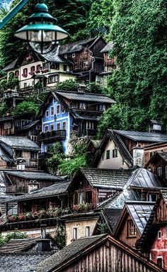 Hallstatt, Austria by novistart1, via Flickr