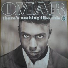 """Omar There's Nothing Like This vinyl maxi single 12"""" 1991 Near Mint condition by pickergreece on Etsy"""