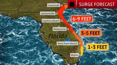 Storm Surge Inundation Forecast