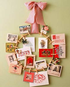 DIY Christmas Wreaths for Front Door - Pinup Holiday Wreath - Click Pick for 24 Easy Christmas Decorating Ideas