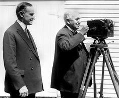 APARAT DE LUAT VEDERI. În anul 1892 inventeza un aparat de luat vederi pentru obiecte sau oameni in miscare, care folosea o banda de celuloid de 35 mm cu perforatii pe margine. Primele incercari, efectuate in laborator, au fost executate cu ritmul de 15 imagini pe secunda, care pe moment nu au dat rezultate satisfacatoare.