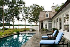 Connecticut riverfront residence. George Penniman Architects.   Décoration de la maison
