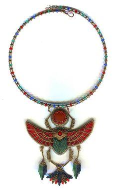 Скарабей (Египетская коллекция) | biser.info - всё о бисере и бисерном творчестве