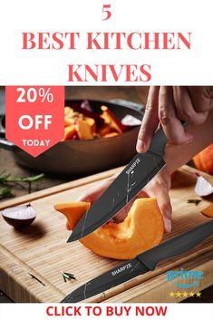Chef's Ultimate Choice: Sharpze's Premium kitchen Knives set is made of high-quality stainless steel that resists rust and corrosion. Ideal for chopping, slicing, dicing, and mincing all kinds of meat, vegetables, fruits, and bread . . . . #chefknifeset #knifesetkitchen #paringknife #serratedparingknife #vegetableknife Best Deep Fryer, Edgy Short Haircuts, Turkish Angora Cat, Laptop Bag For Women, Birthday Gifts For Best Friend, Teeth Care, Knife Sets, Winter Fashion Outfits, Bottle Design