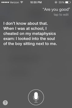 """When a simple """"Meh"""" would have sufficed. 