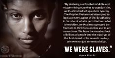 Ayaan Hirsi Ali on the static tyranny of islam | Source: http://www.facebook.com/WFLAtheism?ref=stream
