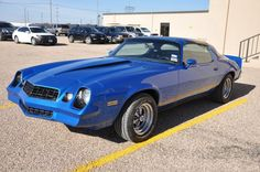'78 Camaro -- first car I researched, ordered and paid for myself!