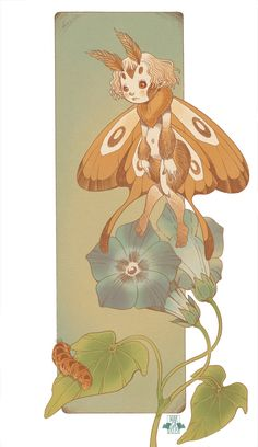 Moth Fairy by blackBanshee80.deviantart.com on @DeviantArt