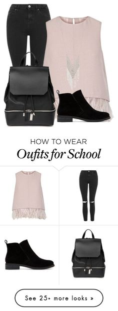 """High School Trend: Wannabe"" by simplyeb on Polyvore featuring Topshop, The 2nd Skin Co., Lucky Brand, COSTUME NATIONAL, Lane Bryant, women's clothing, women's fashion, women, female and woman"