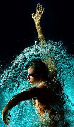 Ian Thorpe... Aussie swimmer