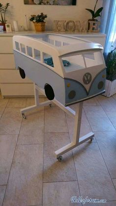 Cool Volkswagen 2017 Crib Sweet is part of Cribs - Baby Bedroom, Kids Bedroom, Volkswagen, Baby Kind, Baby Furniture, Baby Cribs, Kid Beds, Baby Decor, Cheap Home Decor