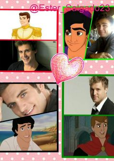 Anthem Lights as Disney Princes // TOTALLY WEIRD BUT WHAT THE HECK