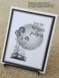 Tamara's Paper Trail: Fort McMurray Inspired Serene Silhouettes Card