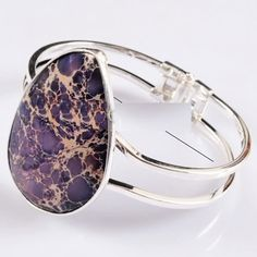 'Fab Purple lc Imperial Turquoise SP Bangle' is going up for auction at  8am Sun, Jun 9 with a starting bid of $9.