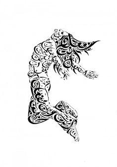 Sans gluten à Beyrouth: Everitte Barbee: calligraphie arabe à couper le souffle!