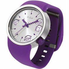 Relojes Morados Odm: Reloj Odm Colección Cubic Color Morado http://www.tutunca.es/reloj-odm-coleccion-cubic-color-morado