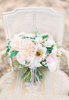 Michelle March #Photography #vintage #victorian #soft #pastels #floral #flowers #bouquet #chair #stills  – South Florida / Miami Wedding Photographer – US + Destination Weddings -