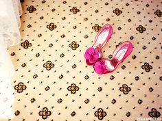 розовые туфли на свадьбу #wedding #shoes #pink