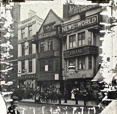 The Lantern Slides of Old London - In Fleet St