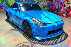 Hand-Painted Nissan 350Z Looks Like A Cartoon Drawing - 9GAG A Cartoon, Cartoon Drawings, Facial Recognition Software, A Princess Of Mars, John Carter Of Mars, Radio Frequency Identification, Car Illustration, Illustrations, Textile Sculpture