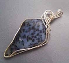 Dendritic Opal  /  Pendants - IrenaDesigns.com - Fine Quality Artisan Jewelry