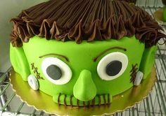 My last years Halloween cake, gotta think of somthing different Spooky Halloween Cakes, Halloween Torte, Halloween Items, Holidays Halloween, Halloween Fun, Holloween Cake, Haunted Halloween, Cute Cakes, Yummy Cakes