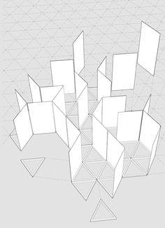 Mirare Maze Folly: reinterpretation of the classical garden maze Exhibition Display, Museum Exhibition Design, Exhibition Space, Mirror Maze, Scale Design, Design Design, Graphic Design, Monumental Architecture, Shop Interior Design