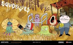 Squidbillies....the only squids I love (and record every episode of)!!