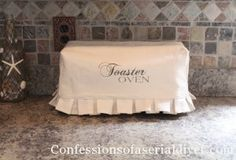 Not Your Mom's Toaster Oven Cover 21