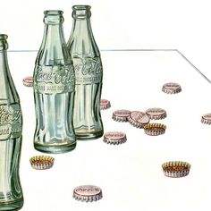 Detail Of Coca-Cola Table Hospitality Can Be So Easy - www.MadMenArt.com | Coca-Cola is more than a brand or a logo. It's a part of American culture - for some people attitude to life and lifestyle. Mad Men Art presents more than 200 vintage Coke ads. #CocaCola #Coke #Cola #VintageAds