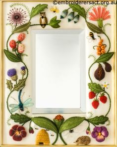 Jane-Nicholas-Mirror-2-Unfamed-and-Stitched-by-Lorna-Loveland.jpg (700×877)