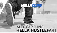 ALEX CAROLINO - HELLA HUSTLE PART - http://dailyskatetube.com/alex-carolino-hella-hustle-part/ - https://www.youtube.com/watch?v=M7V1Kf2lTXY&utm_source=dlvr.it&utm_medium=feed Source: https://www.youtube.com/watch?v=M7V1Kf2lTXY Video parte lançada pelo Hella Clips com imagens filmadas na Brasil, USA,  Venezuela, França e Espanha.   Music: Hashid e Kamau - Ainda tem ( Prod. Coyote Beatz)  F - alex, carolino, HELLA, hustle, part