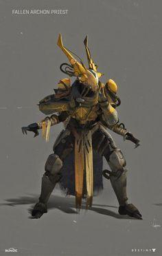 The Beautiful Concept Art of Bungie& Destiny [Updated] destinygame Arte Ninja, Game Character, Character Concept, Concept Art, Cyberpunk, Destiny Fallen, Destiny Game, Destiny Comic, Ex Machina