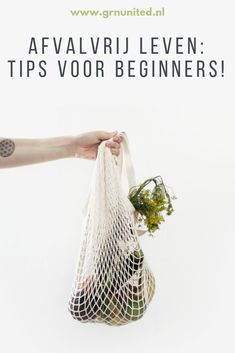 Afvalvrij leven: tips voor beginners - GRN United. Life Hacks, Zero Waste, Less Is More, Natural Cleaning Products, Save The Planet, Go Green, Sustainable Living, Blog Tips, Garden Inspiration