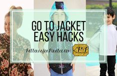 Go-To Jacket - Easy Hacks - Patterns for Pirates Patterns For Pirates, Make It Work, Line Jackets, Fashion Sewing, Easy Hacks, Cotton Spandex, Sewing Patterns, Let It Be, Knitting