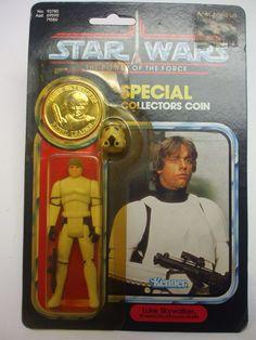 Vintage Star Wars POTF Luke Skywalker - Imperial Stormtrooper Outfit - MOC