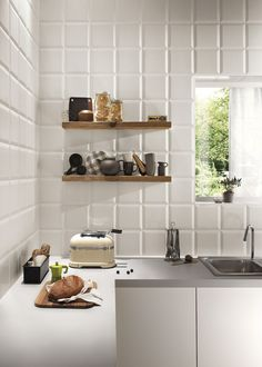 Bathroom tile / kitchen / wall-mounted / porcelain stoneware - LUMINA : FRAME - FAP ceramiche