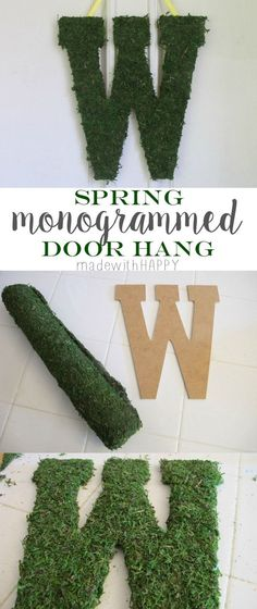 Monogrammed Door Han